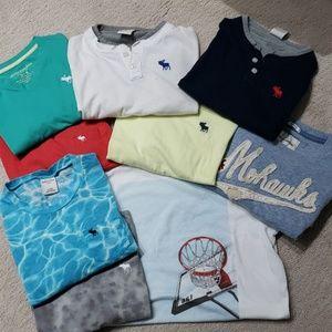 Abercrombie Kids T-Shirt Bundle (9)